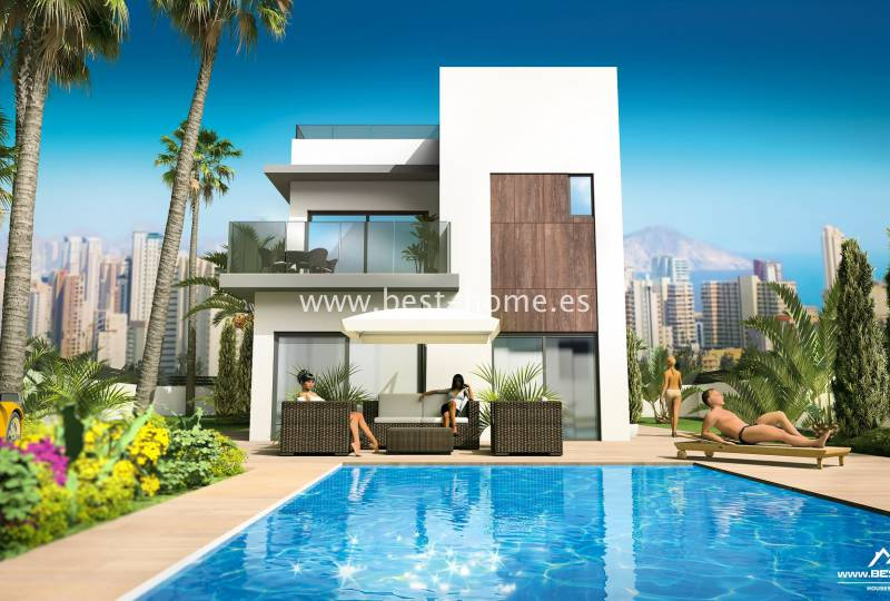 Dom / Willa - New Build - Benidorm - Benidorm