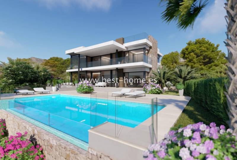 Dom / Willa - New Build - Calpe - Calpe