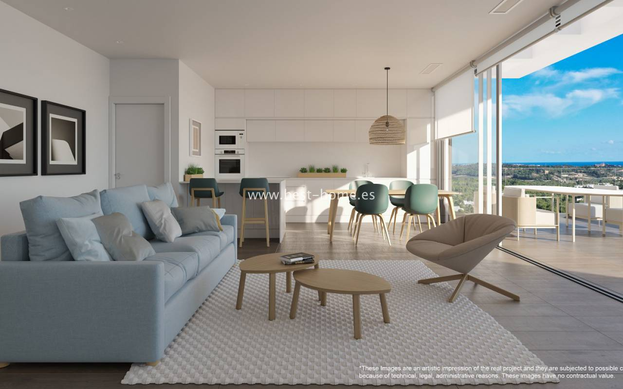 New Build - Penthouse - Las Colinas Golf