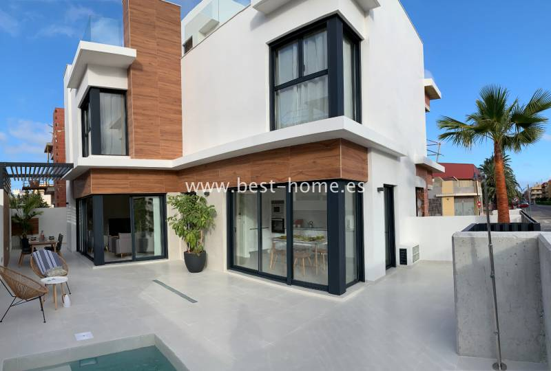 Townhouse - New Build - Santiago de la Ribera - Santiago de la Ribera